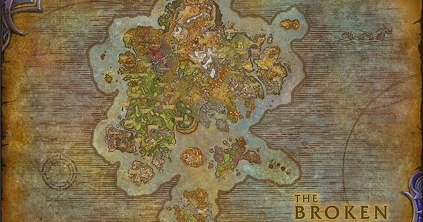 High quality broken isles composite map wow gumiabroncs Images