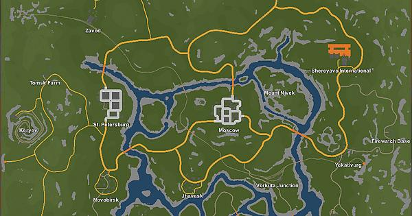 Russia Map GPS and Chart : unturned