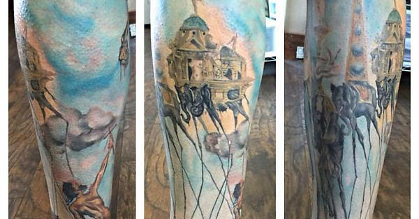 d87d0185f The Temptation of St. Anthony, done by Victoria Martin @ Jake's Tattoo &  Flash, Farmington, NM. : tattoos