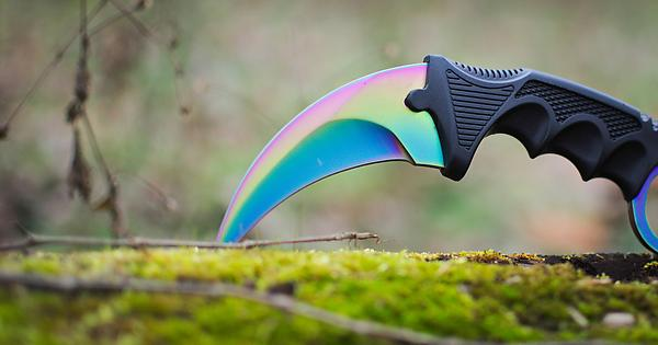 knife my girlfriend got me you guys may like it karambit fade