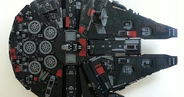 I Also Bricklinked A Color Swapped 10179 Millennium Falcon Lego