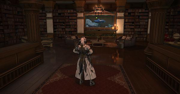 Love The New Mounted Bookshelf Plus Lamp Ffxiv