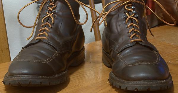 Alden 403 With 4 Years Of Hard Wear 2 Soles Heels 1500 Miles Handsome Malefashionadvice