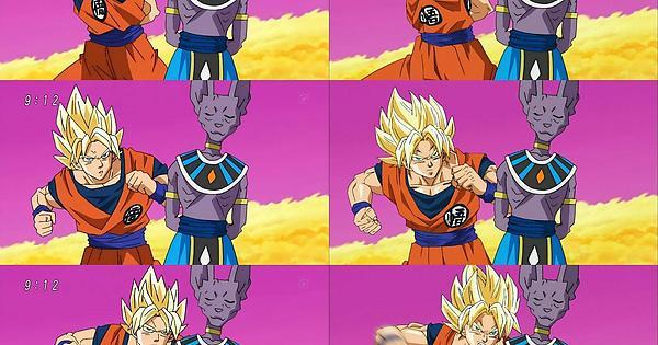 dragon ball super episode 5 tv left vs blu ray right anime