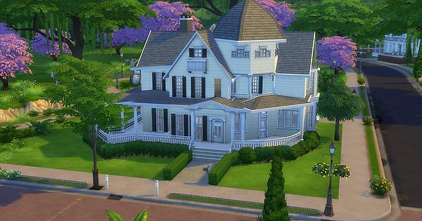 Recreated The Spellman Residence In Ts4 Thesims