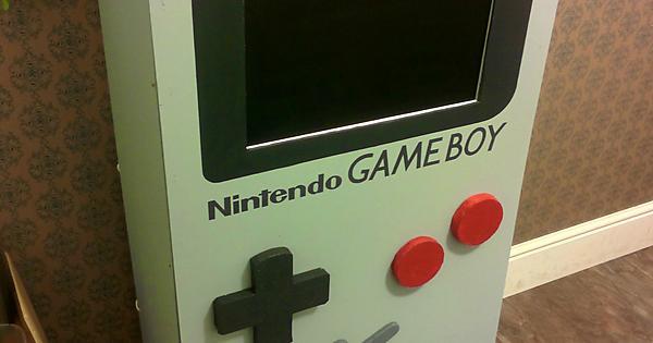 Game Boy Photo Booth Diy