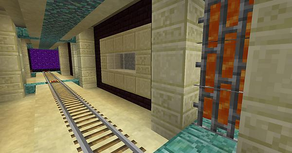 Which Design Would You Use For A Nether Tunnel Minecraft