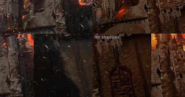 I noticed something different between the Unreal Engine 4 demo from
