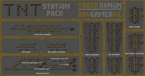 015 ultimate station bp pack factorio malvernweather Image collections