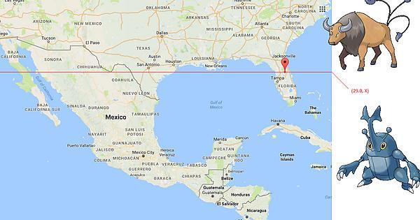 Heracross Florida Map.Heracross Northern Border Thesilphroad