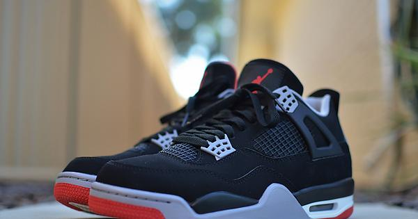 23f2252e93e198  REVIEW  Nike  Bred  AJ4 (Will)   Repsneakers