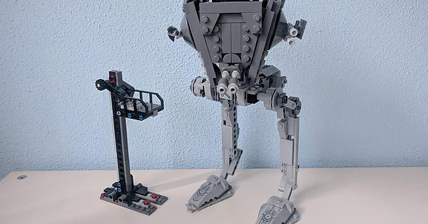 First Order At St Removable Head Moc For 75201 Lego