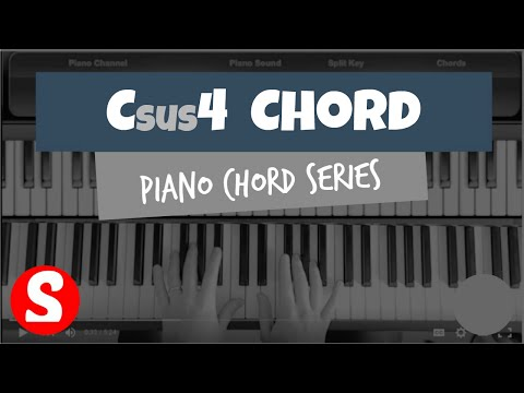 Csus4 Chord In Depth Piano Tutorial Piano