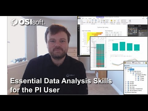 OSIsoft Hands-on Lab: Essential Data Analysis Skills for the PI User