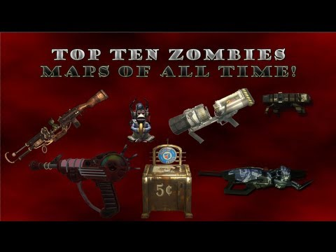 Top Ten Zombie Maps of All Time 2017! : zombies