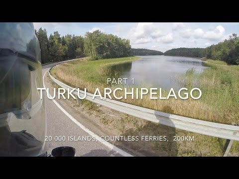 Turku Archipelago Trail on a Motorcycle Part 1