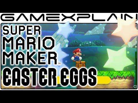 super mario maker 11 title screen secrets easter eggs