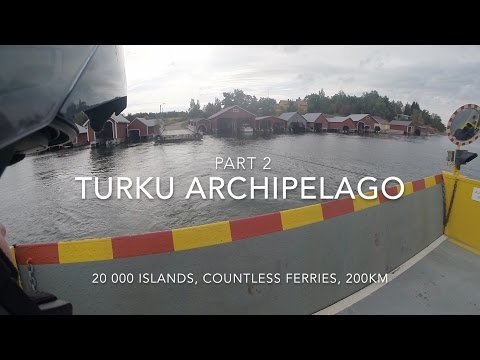 Turku Archipelago Trail on a Motorcycle Part 2