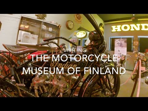 Visiting The Motorcycle Museum Of Finland