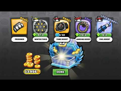 50 legendary chest opening hill climb racing 2 300 items. Black Bedroom Furniture Sets. Home Design Ideas