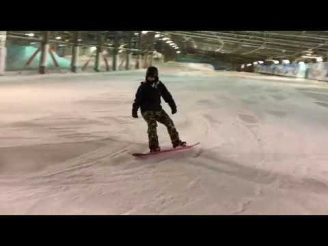How To Eurocarve Lay Down Carve On A Snowboard James Streater Medium
