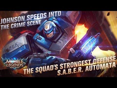 Johnson S A B E R Squad Automata Skin Effects And Animation