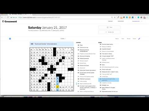 How i mastered the saturday nyt crossword puzzle in 31 days ccuart Gallery