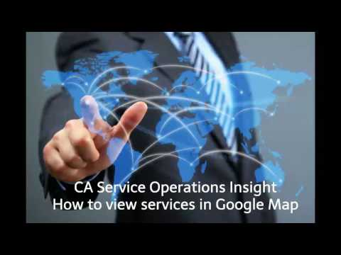[Education Video] CA SOI: How to view services in Google Map