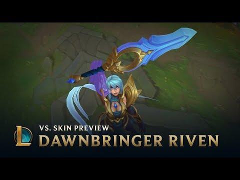 League Of Legends Dawnbringer Riven And Nightbringer Yasuo Preview
