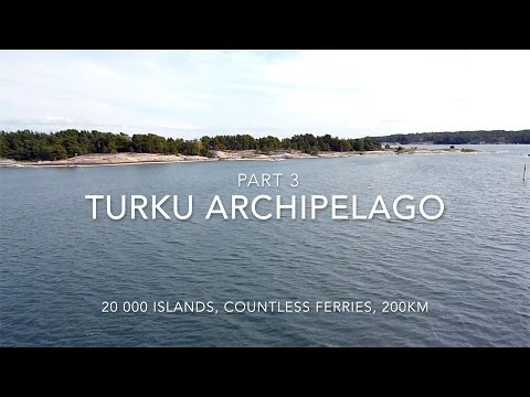 Turku Archipelago Trail on a Motorcycle Part 3