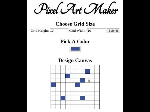 udacity pixel art maker benjamin cunningham medium