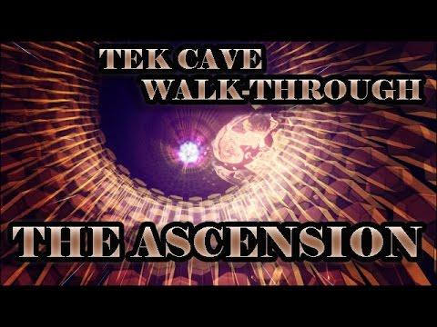 Tek Cave Walk through - The Ascension - Ark Survival Evolved Patch