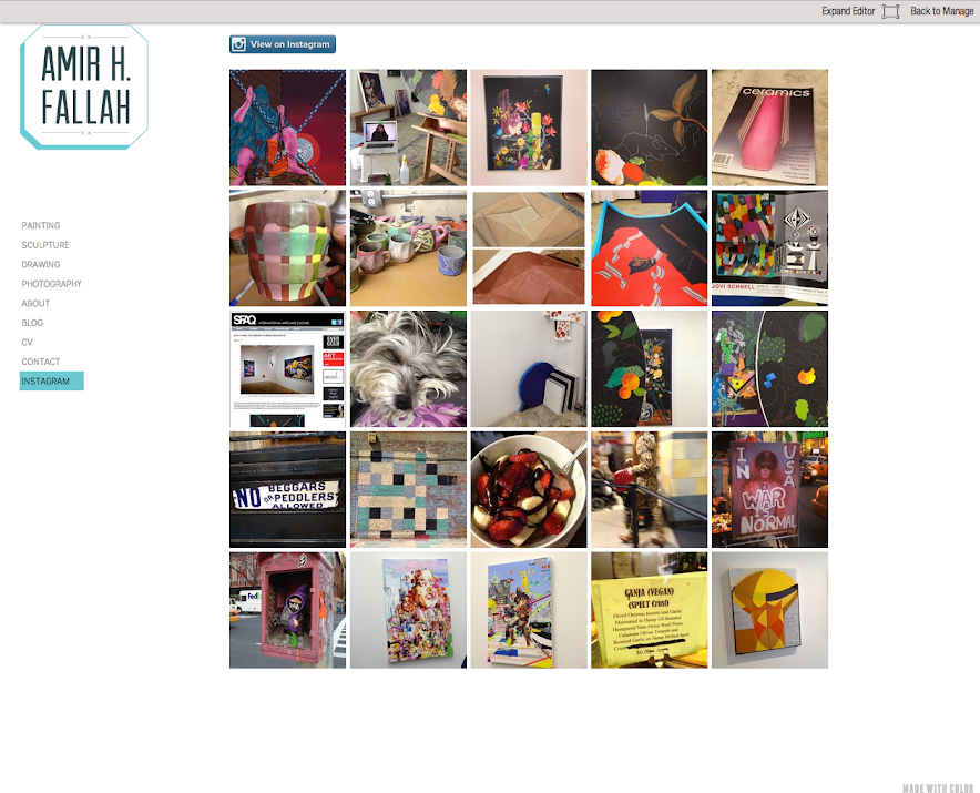 Adding an instagram feed to your site welcome to made with colors adding an instagram feed to your site welcome to made with colors knowledge base ccuart Choice Image