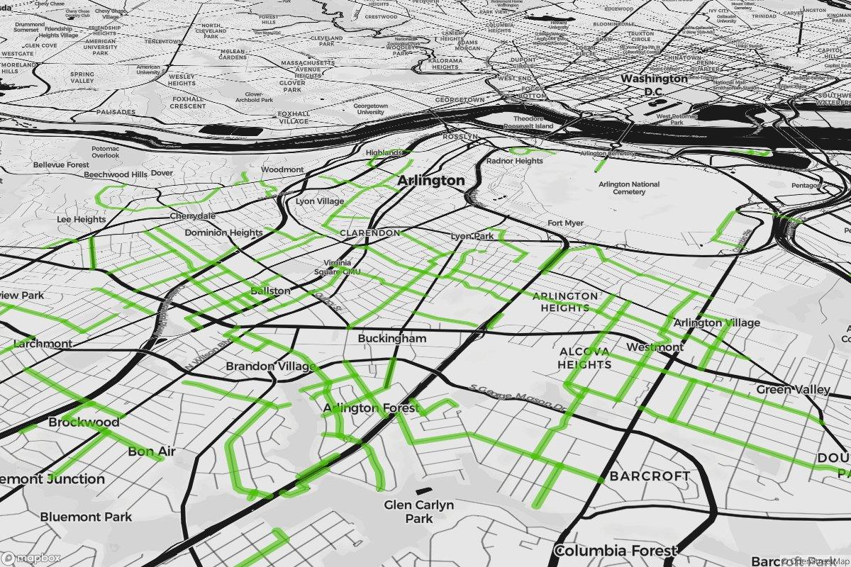 Designer map hack – Points of interest