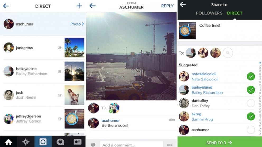 Instagram now has Direct Messaging Feature, RIP Snapchat