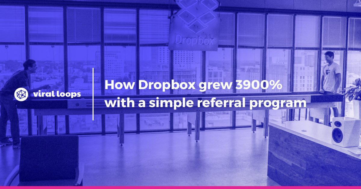 How Dropbox grew 3900% with a simple referral program - GrowthHackers