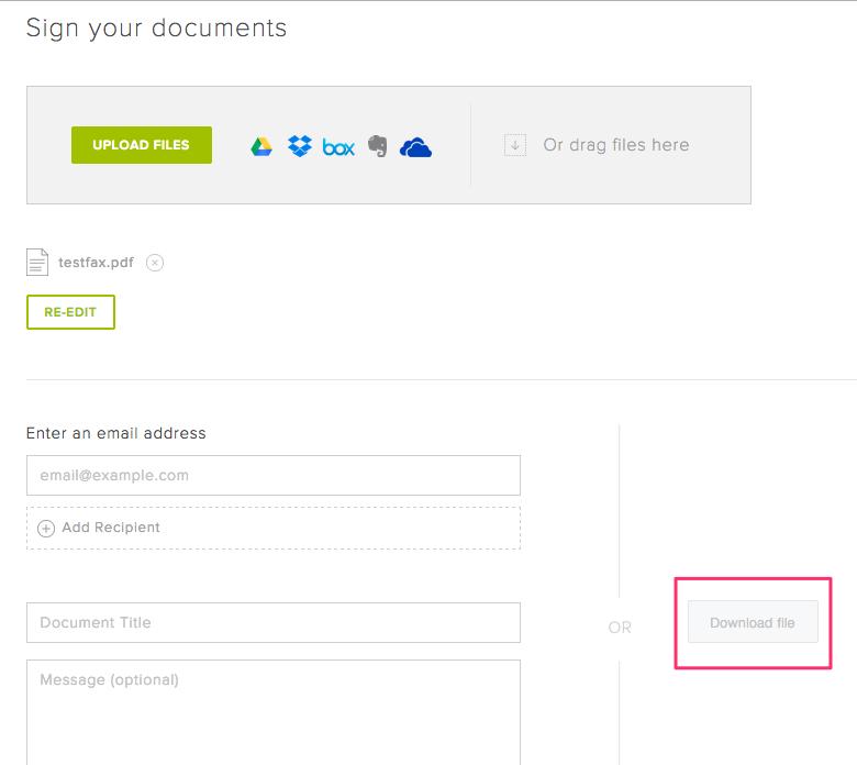 how do i e sign a pdf document