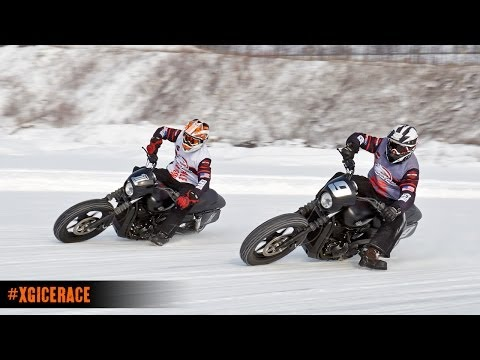 Many profess the awesomeness of riding a dirt bike on ice, but few partake