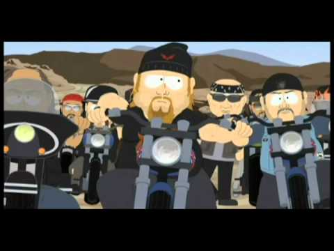 South Park Harley Riders - too Funny